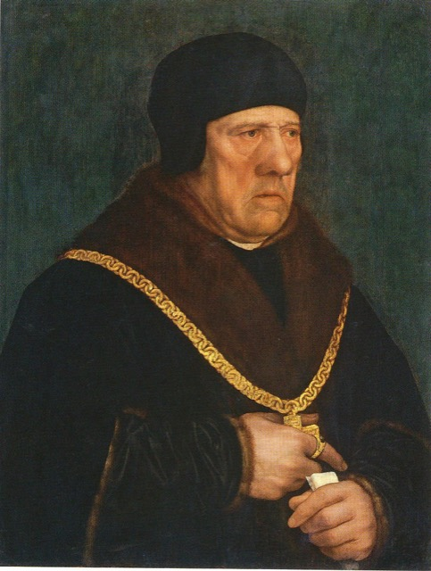Sir Henry Wyatt by Hans Holbein the Younger
