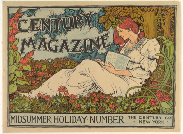 The cover of The Century Magazine by Louis John Rhead