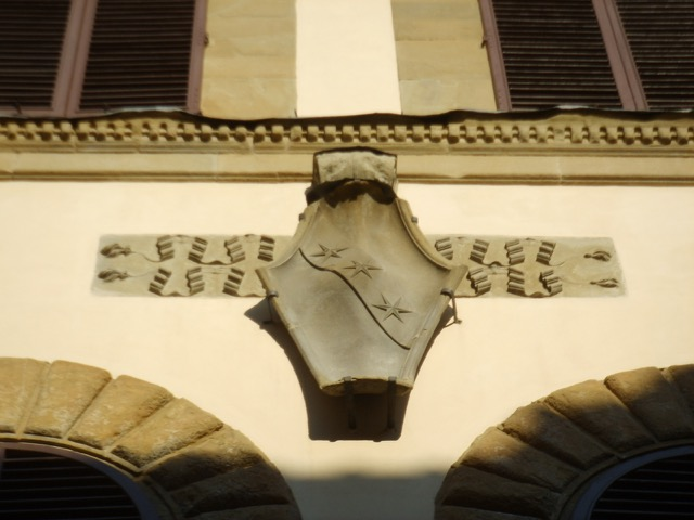 Coat of Arms on the Palazzo Ginori in Florence