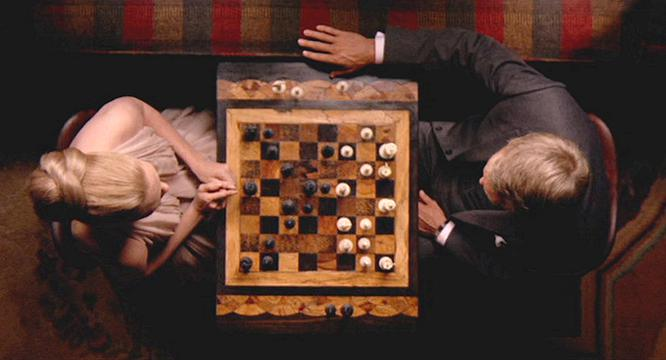 In the mood for chess in The Thomas Crown Affair