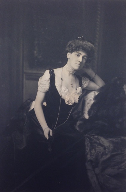 Edith Wharton portrait from Beinecke at Yale