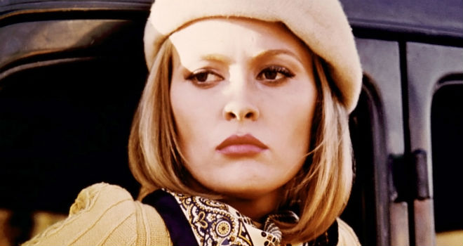 Faye Dunaway as Bonnie in Bonnie and Clyde
