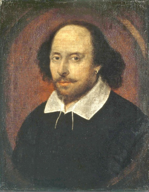 The Chandos portrait of Shakespeare