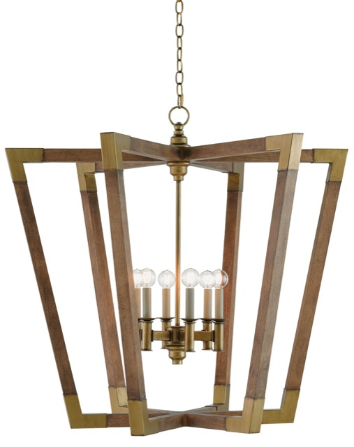 Currey and Company's Bastian 6-light chandelier
