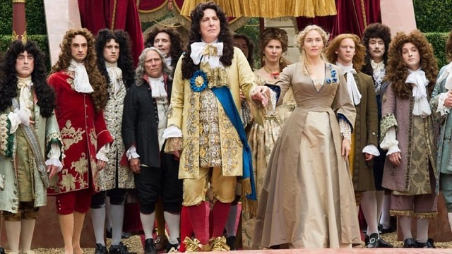 Alan Rickman and Kate Winslet in A Little Chaos