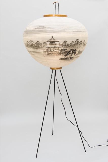 Noguchi Akari floor lamp at Oculus Gallery