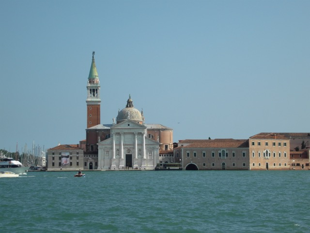 View from Punta della Dogana in Venice