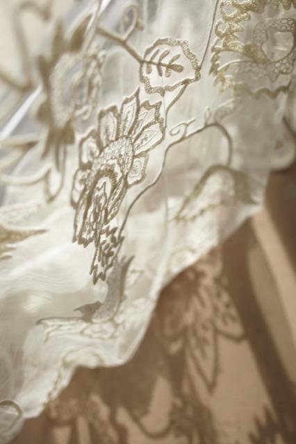 Fine lace heirlooms by Pandora de Balthazar