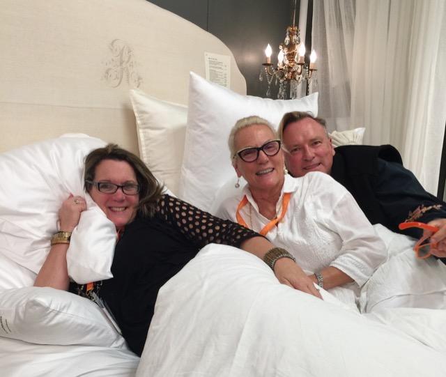 Cheryl Kees Clendenon, Pandora de Balthazar and Bruce Andrews