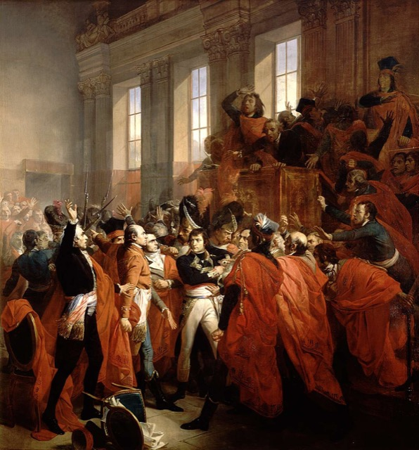 Napoleon in the Counsel of 500