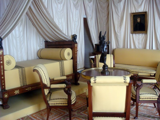 Napoleon Bedchamber at Malmaison Transitory Space