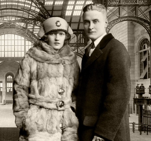 Scott and Zelda Fitzgerald before This Side of Paradise