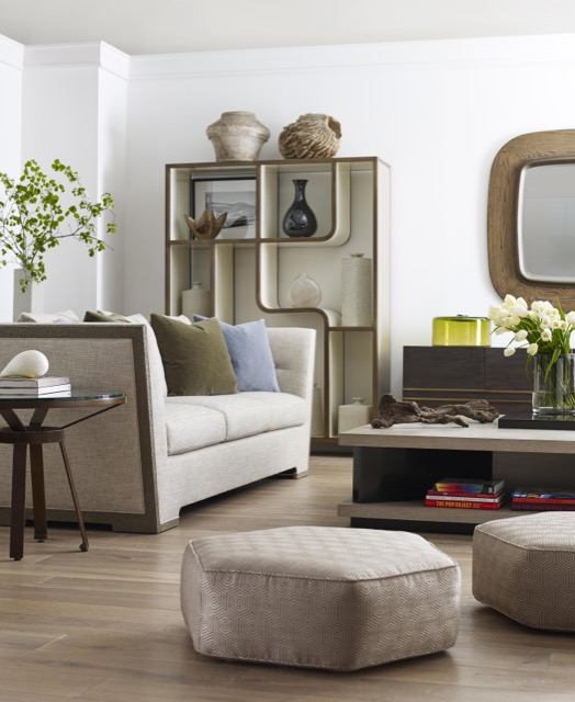 Michael Berman living room vignette