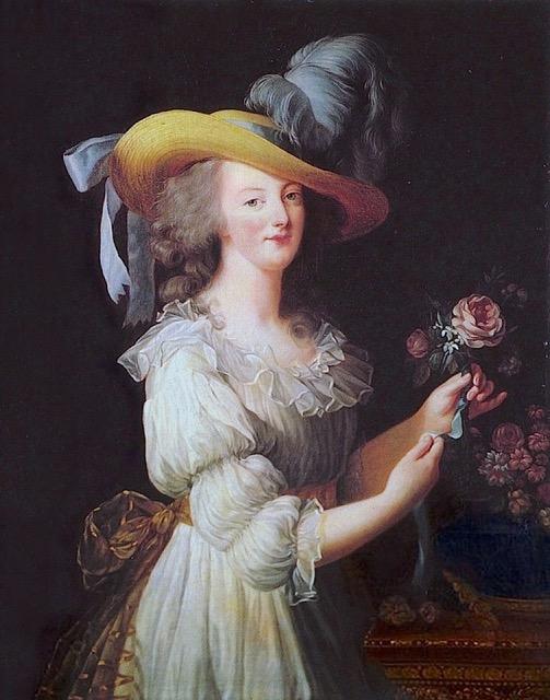 Marie Antoinette en chemise by Vigee Le Brun