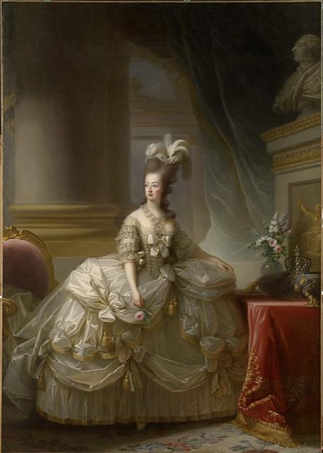 Marie Antoinette in Court Dress