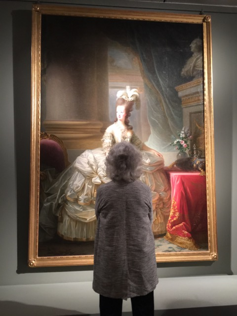 Elisabeth Vigee Le Brun portrait of Marie Antoinette