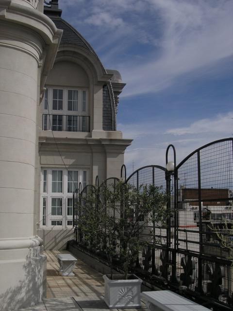 Alvear Palace rooftop terrace