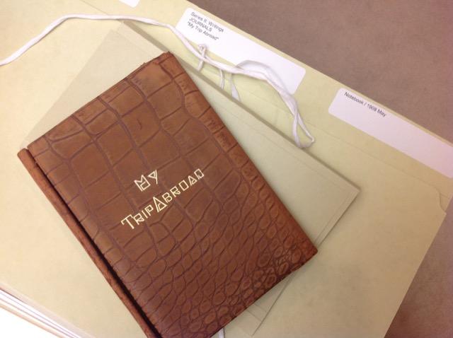 Edmund Wilson Travel Journal touching literary history