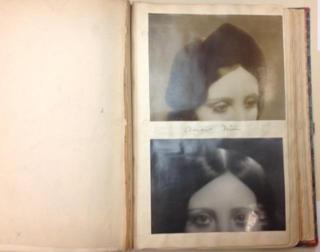 Henry Miller photos of Anaïs Nin's eyes