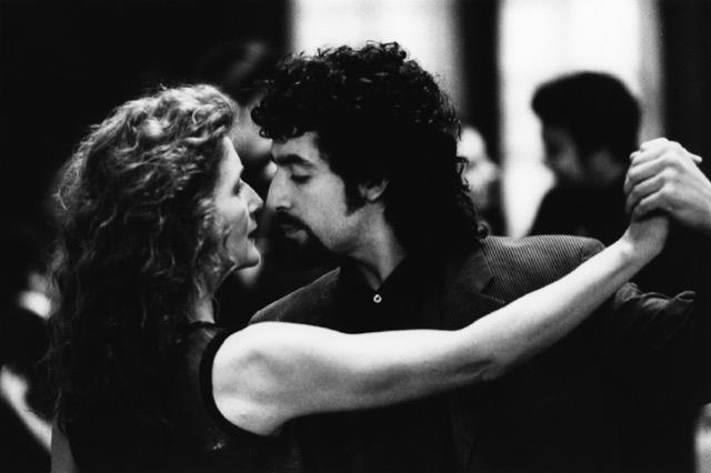 Sally Potter and Pablo Veron dance tango.