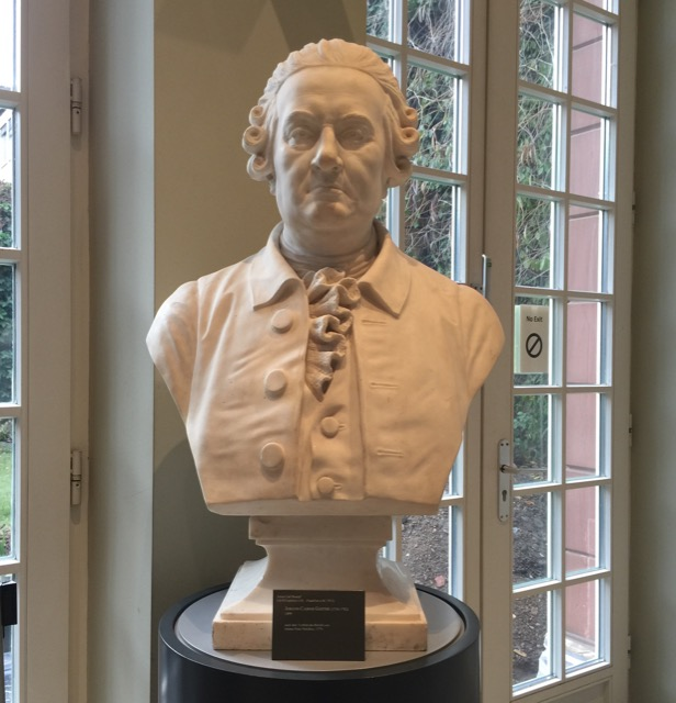 Bust of Goethe Father