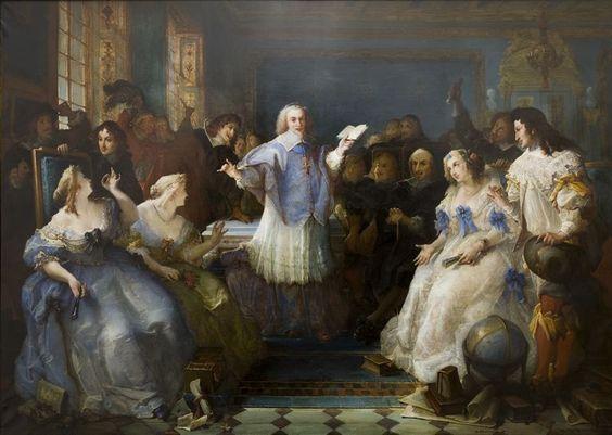 Chambre Bleu painting