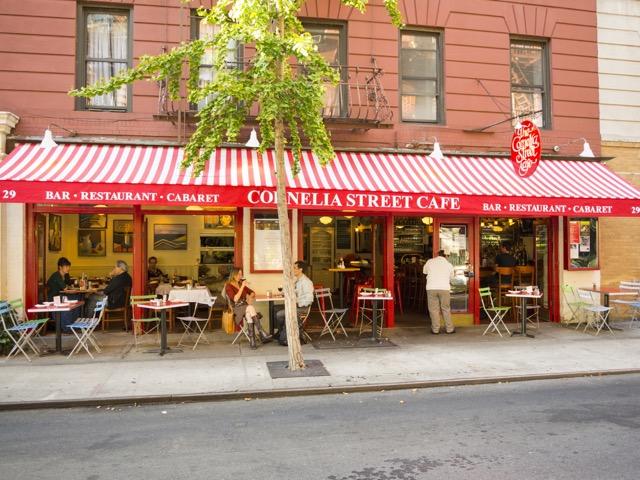 The Cornelia Street Café.