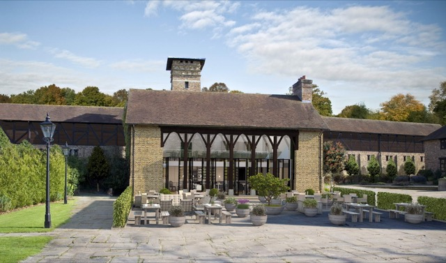 Coworth Park Barn and stables