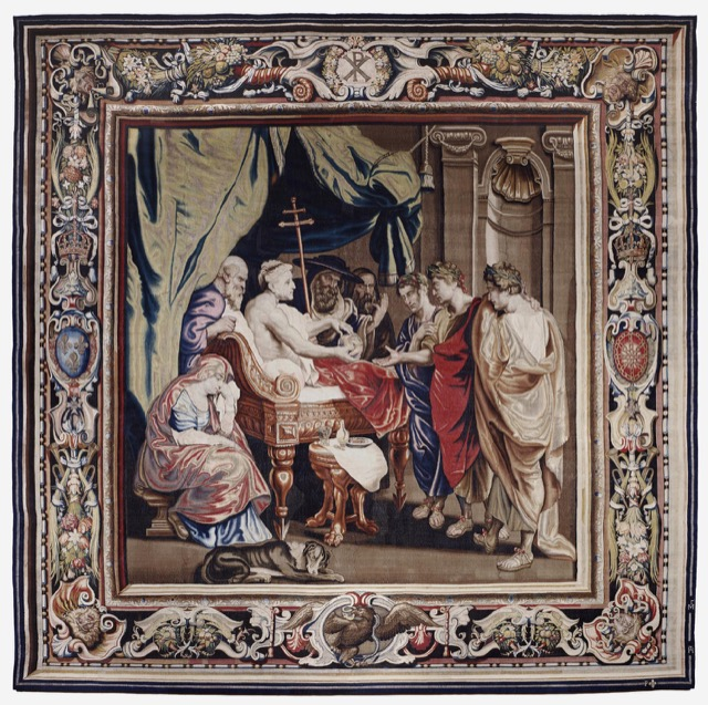 Death of Constantine tapestry