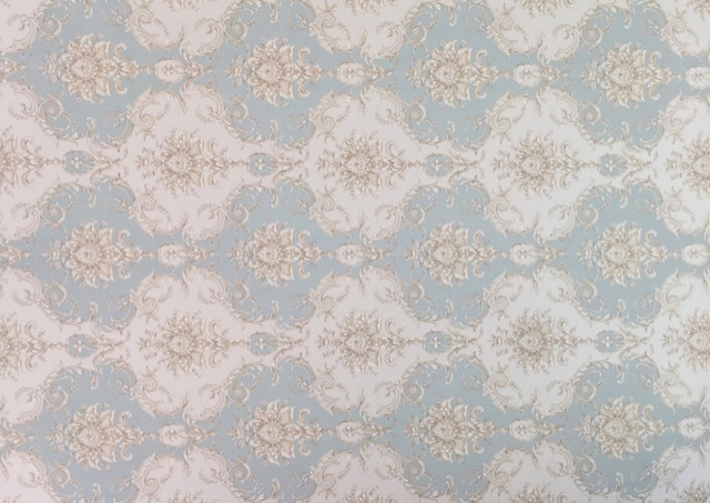 Design ID's pale wallpaper with its floral nosegays