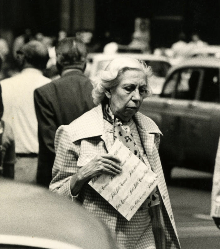 Eudora Welty in New York City