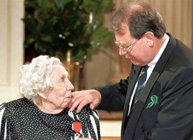 Eudora Welty receives Legion of Honor
