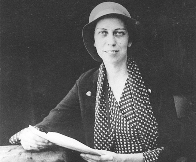Eudora Welty as a young woman.
