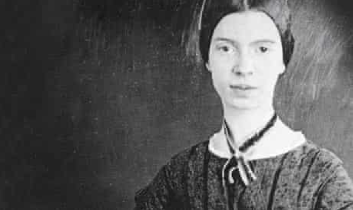 Emily Dickinson, the most famous resident of Amherst.