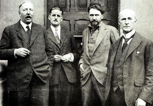 Ford Madox Ford and Ezra Pound