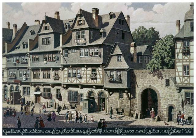 Goethehaus circa 1755