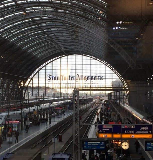 Frankfurt's central train station