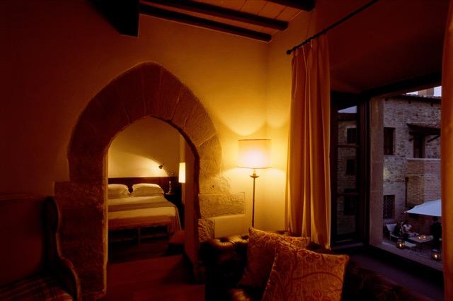 Room at Castel Monastero