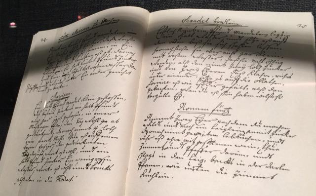 Goethe Handwriting