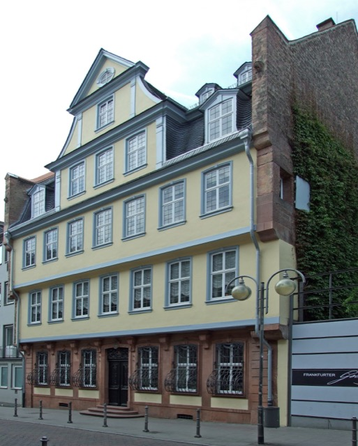 Birthplace of Goethe in Frankfurt