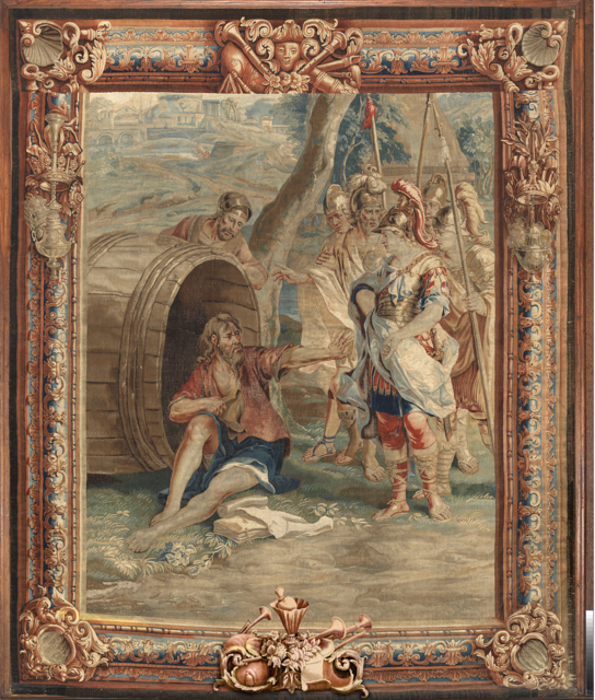 History of Alexander tapestry