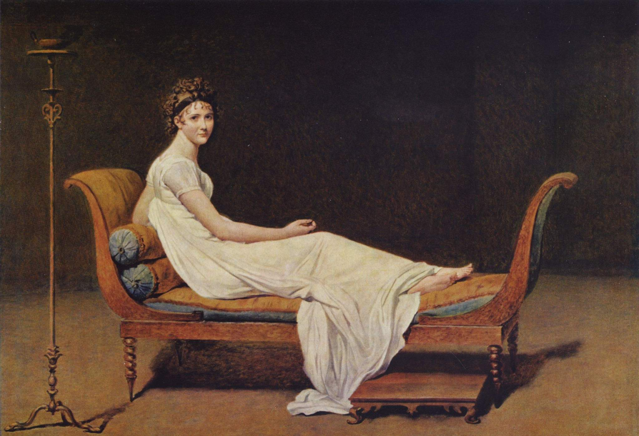a reclining Madame Récamier