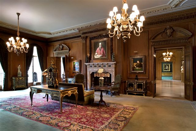 Living Hall of Frick Collection