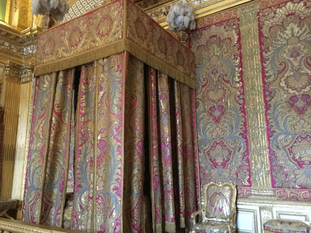Louis XIV's bedroom at Versailles