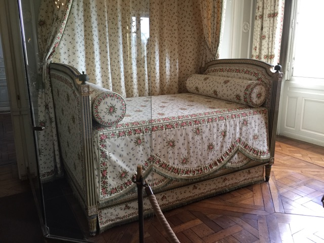 Marie Antoinette's bed at The Petit Trianon