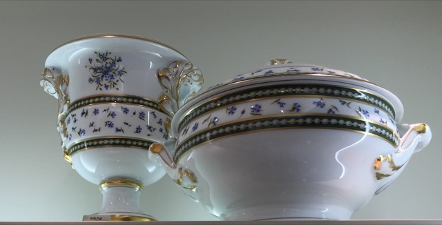 Marie Antoinette pattern of porcelain
