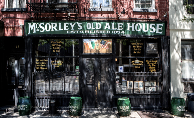 McSorley's Bar in New York City