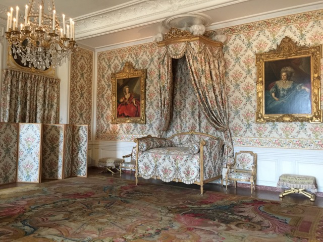 Princess Adélaïde's bedroom at the Palace of Versailles