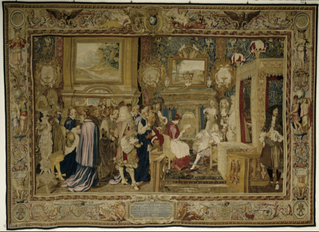 The Life of Louis XIV Tapestry