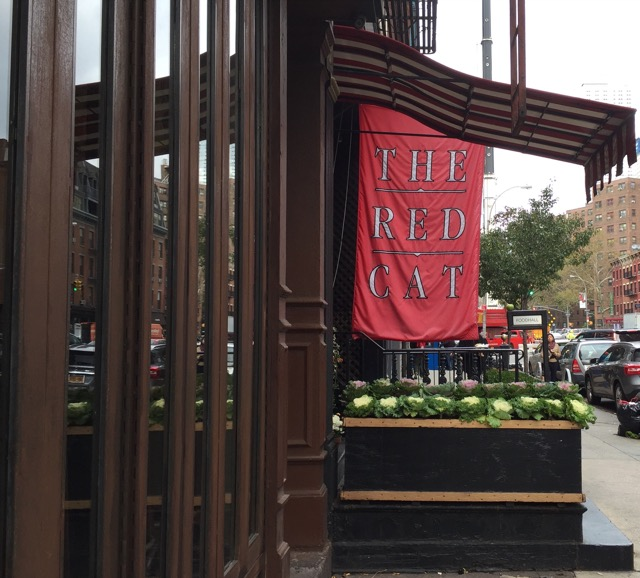 Exterior of Red Cat Restaurant